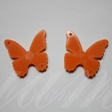 osp2h02-drug-30x20. about 30 x 20 mm, butterfly shape, organic glass, pendant part, 1 pc.