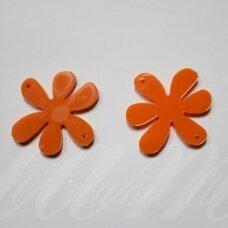 osp2h02-gel-40x40 apie 40 x 40 mm, gėlytės forma, organinis stiklas, pakabuko detalė, 1 vnt.