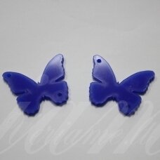 osp5h01-drug-40x35. about 40 x 35 mm, butterfly shape, organic glass, pendant part, 1 pc.