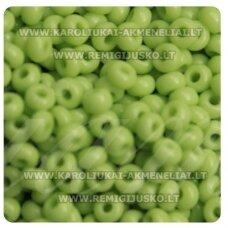 PCCB00005-10/0 2.2 - 2.4 mm, apvali forma, salotinė spalva, apie 50 g.
