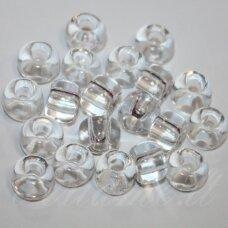 pccb00050-02/0 5.8 - 6.3 mm, apvali forma, skaidrus, apie 50 g.