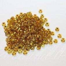 PCCB00086-06/0 3.7 - 4.3 mm, apvali forma, skaidrus, geltona spalva, apie 50 g.
