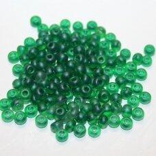 pccb00101-05/0 4.3 - 4.8 mm, apvali forma, žalia spalva, apie 50 g.