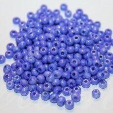 PCCB00116-06/0 3.7 - 4.3 mm, apvali forma, mėlyna spalva, apie 50 g.