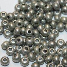 PCCB00211-06/0 3.7 - 4.3 mm, apvali forma, pilka spalva, apie 50 g.
