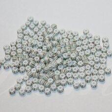 pccb03951-08/0 2.8 - 3.2 mm, apvali forma, dryžuoti, apie 50 g.