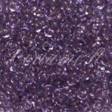 pccb01122-06/0 3.7 - 4.3 mm, apvali forma, skaidrus, violetinė spalva, apie 50 g.