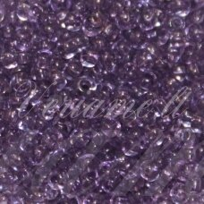 pccb01122-08/0 2.8 - 3.2 mm, apvali forma, skaidrus, violetinė spalva, apie 50 g.