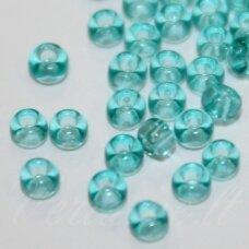 pccb01165-09/0 2.4 - 2.8 mm, apvali forma, žydra spalva, apie 50 g.