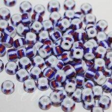 pccb03390-07/0 3.2 - 3.7 mm, apvali forma, marga, apie 50 g.