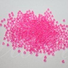 pccb08777-08/0 2.8 - 3.2 mm, apvali forma, skaidrus, viduriukas rožinė spalva, apie 50 g.