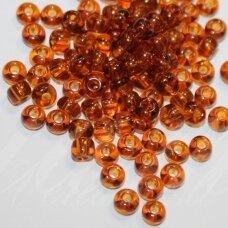 pccb10090-09/0 2.4 - 2.8 mm, apvali forma, ruda spalva, apie 50 g.
