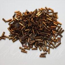 """pccb12001/59145-3"""" 6.5 x 2 mm, pailga forma, bronzinė spalva, apie 50 g."""