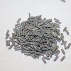 "pccb12001/43020-3"" 6.5 x 2 mm, pailga forma, pilka spalva, apie 50 g."