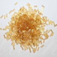 "pccb12001/16020-2"" 4.5 x 2 mm, pailga forma, skaidrus, gelsva spalva, apie 50 g."