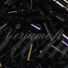 """PCCB12001/23980-4"""" 9 x 2 mm, pailga forma, juoda spalva, apie 50 g."""