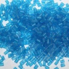 """pccb12001/39001/60150-3"""" 6.5 x 2 mm, pailga forma, matinė, mėlyna spalva, apie 50 g."""