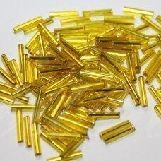 """pccb12001/87010-5"""" 11 x 2 mm, pailga forma, geltona spalva, viduriukas su folija, apie 50 g."""