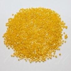 """pccb12001/88130-0.5"""" 1.5 x 1.2 mm, pailga forma, geltona spalva, blizgi danga, apie 50 g."""