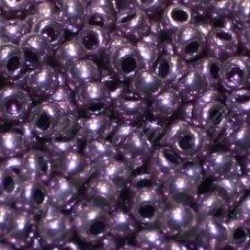 pccb18528-09/0 2.4 - 2.8 mm, apvali forma, violetinė spalva, blizgi danga, apie 50 g.