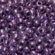 PCCB18528-12/0 1.8 - 2.0 mm, šviesi, violetinė spalva, apie 50 g.