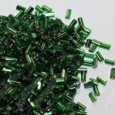 """pccb22001/57120-3"""" 6.5 x 2 mm, pailga forma, žalia spalva, viduriukas su folija, apie 50 g."""