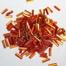 """pccb22001/87797-3"""" 6.5 x 2 mm, pailga forma, oranžinė spalva, viduriukas su folija, apie 50 g."""