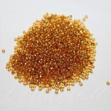 pccb29001/17050-32/0 7.6 mm, apvali forma, skaidrus, šviesi, ruda spalva, viduriukas su folija, ab danga, kvadratinė skylė, apie 50 g.