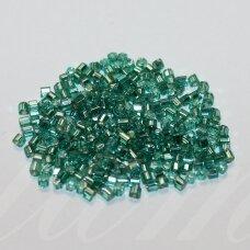 pccb31001/78665-08/0 2.5 x 2.5 mm, pailga forma, elektrinė spalva, viduriukas su folija, apie 50 g.