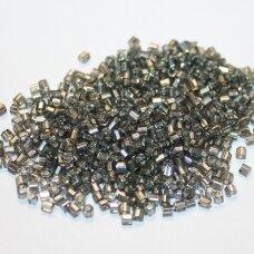 pccb31001/78641-09/0 2.4 x 2.4 mm, pailga forma, pilka spalva, viduriukas su folija, apie 50 g.