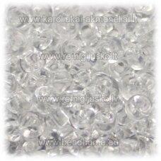 pccb11001/00050-02/0 apie 6 mm, lašo forma, skaidrus, apie 50 g.