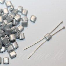 PCCB321-94001-16708-5/5 apie 5 x 5mm, sidabro spalva, apie 48g.