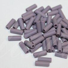 pccb321/11001/39001/23040-8/3 apie 8 x 3 mm, pailga forma, matinis, alyvinė spalva, apie 50 g.