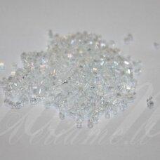 pccb321/11001/58205-2/2 mm 2 x 2 mm, pailga forma, skaidrus, ab danga, apie 50 g.