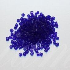 pccb321/11001/30100-10/4 10 x 4 mm, pailga forma, mėlyna spalva, apie 50 g.