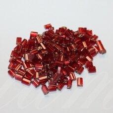 pccb61001/97070-05/3.5 5 x 3.5 x 2.5 mm, pailga forma, raudona spalva, viduriukas su folija, apie 50 g.