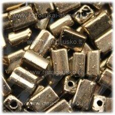 pccb321/61001/59142-05/3.5 mm 5 x 3.5 x 2.5 mm, pailga forma, auksinė spalva, apie 50 g.