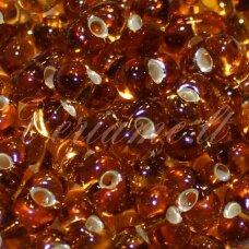 PCCB321/90001/17090-3.2/6.5 3.2 x 6.5 mm, farfalle forma, skaidrus, ruda spalva, apie 50 g.