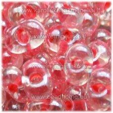 pccb321/90001/38697-3.2/6.5 3.2 x 6.5 mm, skaidrus, viduriukas rožinė spalva, apie 50 g.