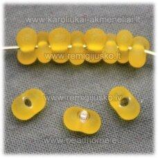 pccb321/90001/93001/80010-3.2/6.5 3.2 x 6.5 mm, farfalle forma, matinė, geltona spalva, apie 50 g.