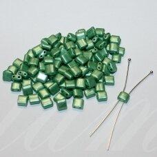 pccb321/94001/16758-5/5 apie 5 x 5 mm, žalia spalva, apieapie 15 g.
