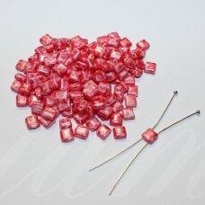pccb321/94001/26298-5/5 apie 5 x 5 mm, marga, rožinė spalva, apieapie 15 g.