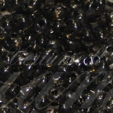 pccb321/96001/01141-2.5 x 3 x 5 mm, twin forma, skaidrus, pilka spalva, apieapie 20 g.