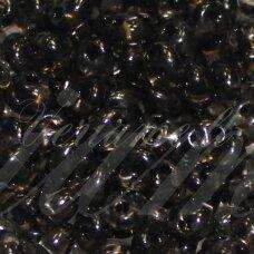 PCCB321/96001/01141-2.5 x 3 x 5 mm, twin forma, skaidrus, juoda spalva, apie 50 g.