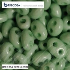 PCCB321/96001/03162-2.5 x 3 x 5 mm, twin forma, blizgūs, šviesi, žalia spalva, apie 20 g.