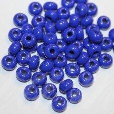 pccb33050-05/0 4.3 - 4.8 mm, apvali forma, mėlyna spalva, apie 50 g.