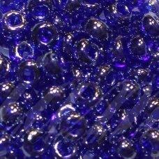 PCCB331/29001/36080-05/0 4.3 - 4.8 mm, apvali forma, perlamturinis, mėlyna spalva, viduriukas, kvadrato forma, apie 50 g.