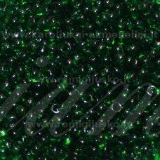 pccb331/29001/50060-08/0 2.8 - 3.2 mm, apvali forma, žalia spalva, kvadratinė skylė, apie 50 g.