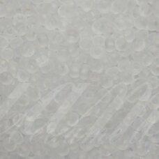 pccb331/39001/00050-10/0 2.2 - 2.4 mm, apvali forma, skaidrus, matinė, apie 50 g.