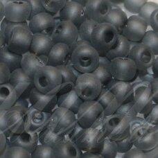 PCCB331/39001/40010-10/0 2.2 - 2.4 mm, apvali forma, matinis, pilka spalva, apie 50 g.